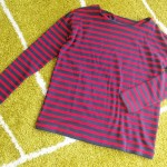 H&Mで美シルエットのボーダー発見!着丈を「少しだけ」短くしたいけど…