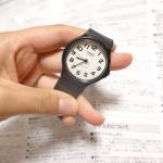 チープカシオの腕時計はアナログ感がたまらん!