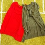 ZARA(ザラ)2000円のプチプラ秋色ニット!赤とカーキの2着をお買い上げ!