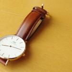 【ダニエルウェリントン】36mmブラウンの腕時計は「最高だった」という口コミ